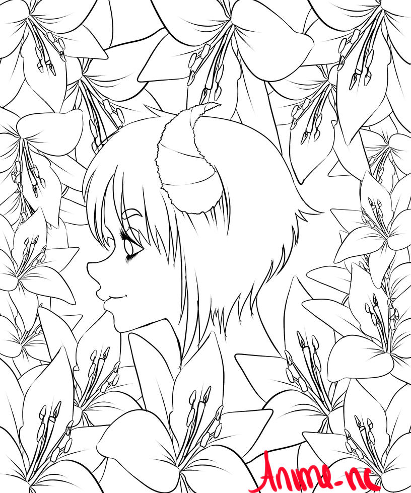 Finished Line Art by anime-nc