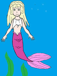 Lillie Mermaid by JoshPikaPepsiFan1991