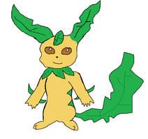 Grass Type Pikachu by Coca-ColaFan1991