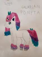 Galarian Ponyta by JoshPikaPepsiFan1991