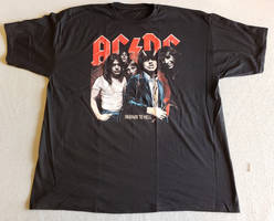 ACDC Highway to Hell T Shirt by JoshPikaMTNDewFan91