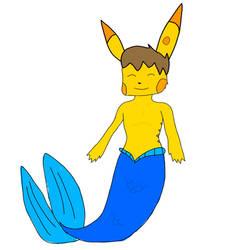 Merman Josh Pikachu