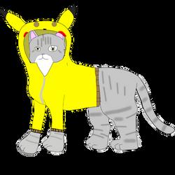 Savannah with Pikachu Hoodie