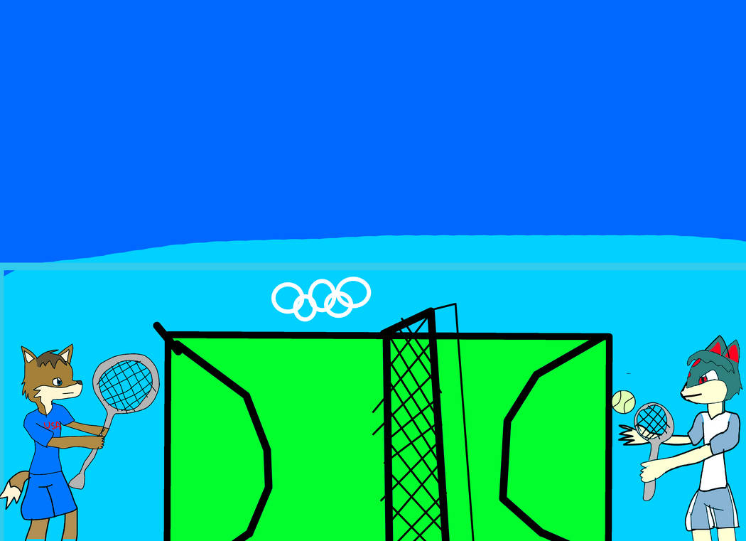 Tokyo Olympics - Tennis America vs Guatamala