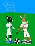 2020 Olympics - Soccer Bella vs Eva