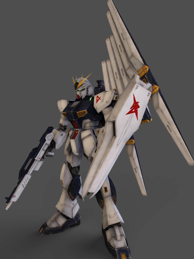 RX-93  Gundam by Yakuzalover