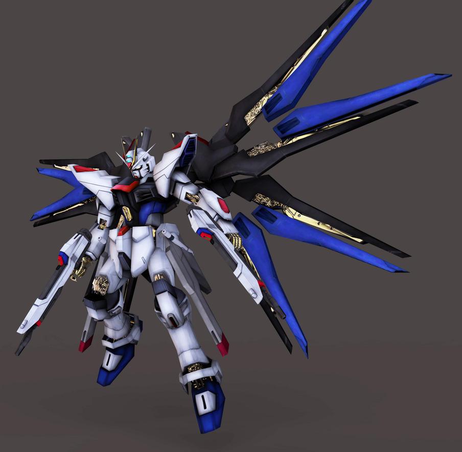 ZGMF-X20A Strike Freedom Gundam by Yakuzalover