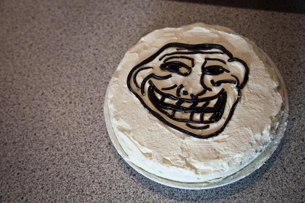 Troll Birthday Cake To Buy