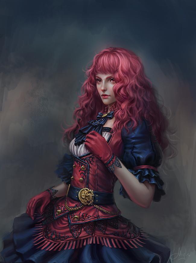Sorceress Cherlyn by mylsbunagan