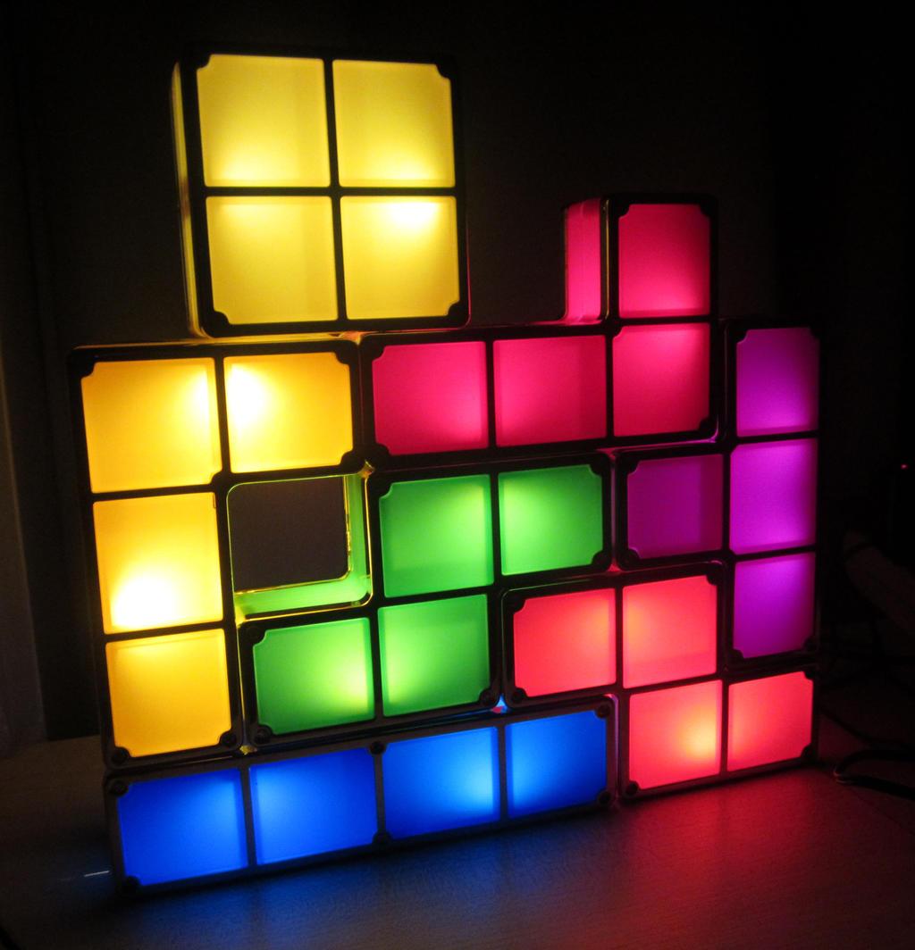 Tetris Light by DreamBex