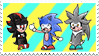 3 Chibi Hogs Stamp by DreamBex