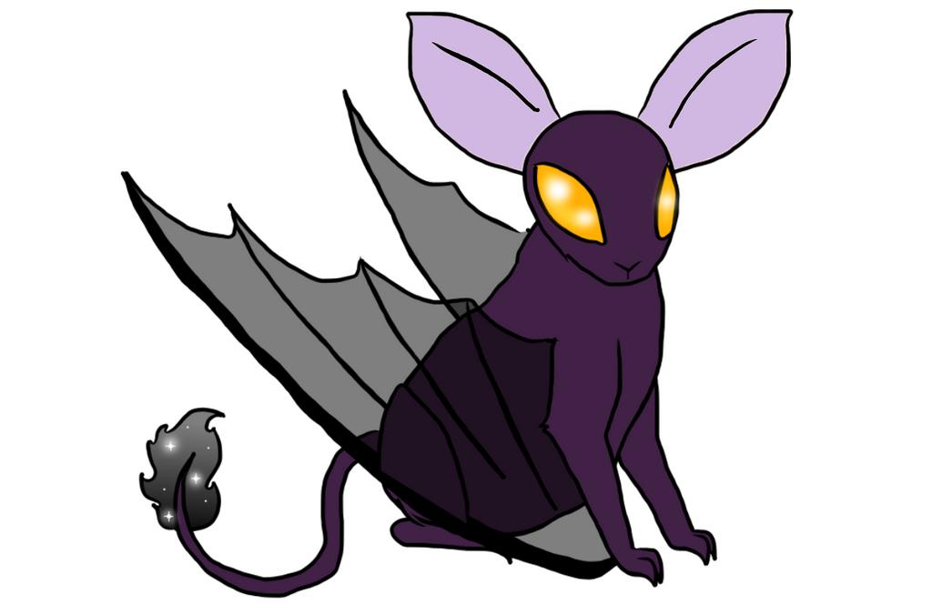 Shadow Bat by pinkorchid123