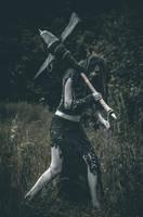 Marta (Outlast 2) cosplay by foxkillerph