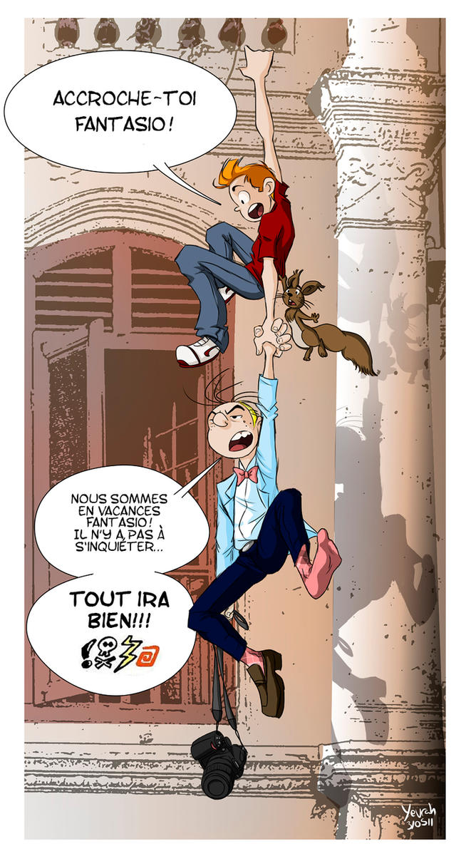 Spirou et Fantasio by Konstance