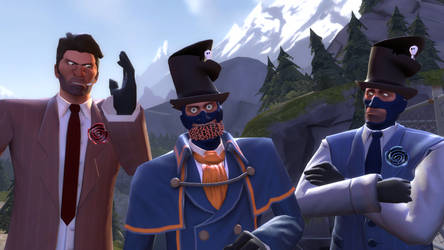 3 Spies,One of them is a retard
