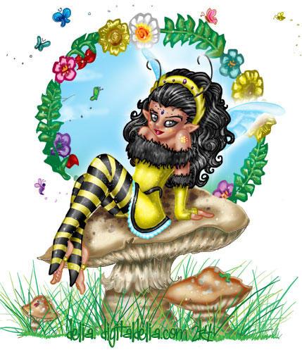 Bee Fae by frasdel