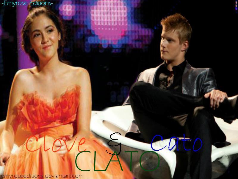 The Hunger Games - Cato and Clove Manip. by ...