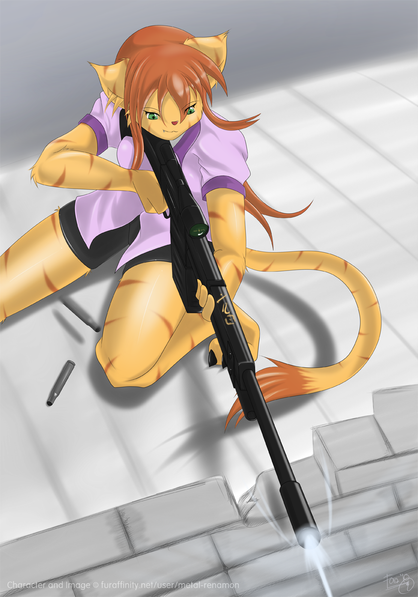 Mock Battle - Mikuru by MetalRenamon