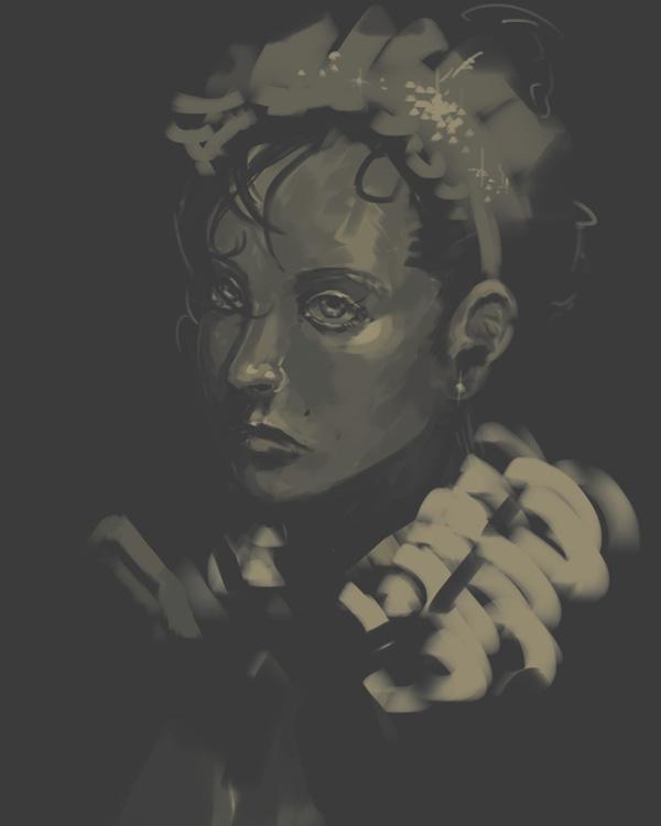 steely portrait by sevenee