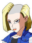 Android 18 headshave