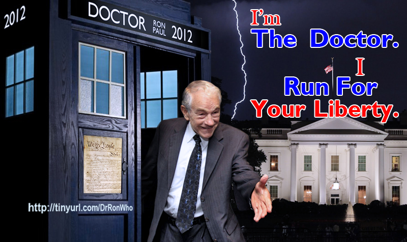 Ron Paul as Doctor Who by David-Grant
