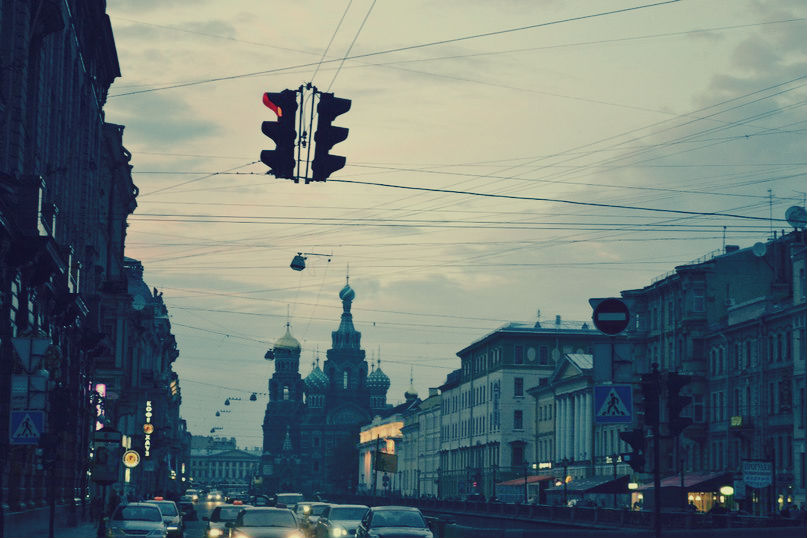 I work in St. Petersburg. by Andrey-Sofyanov