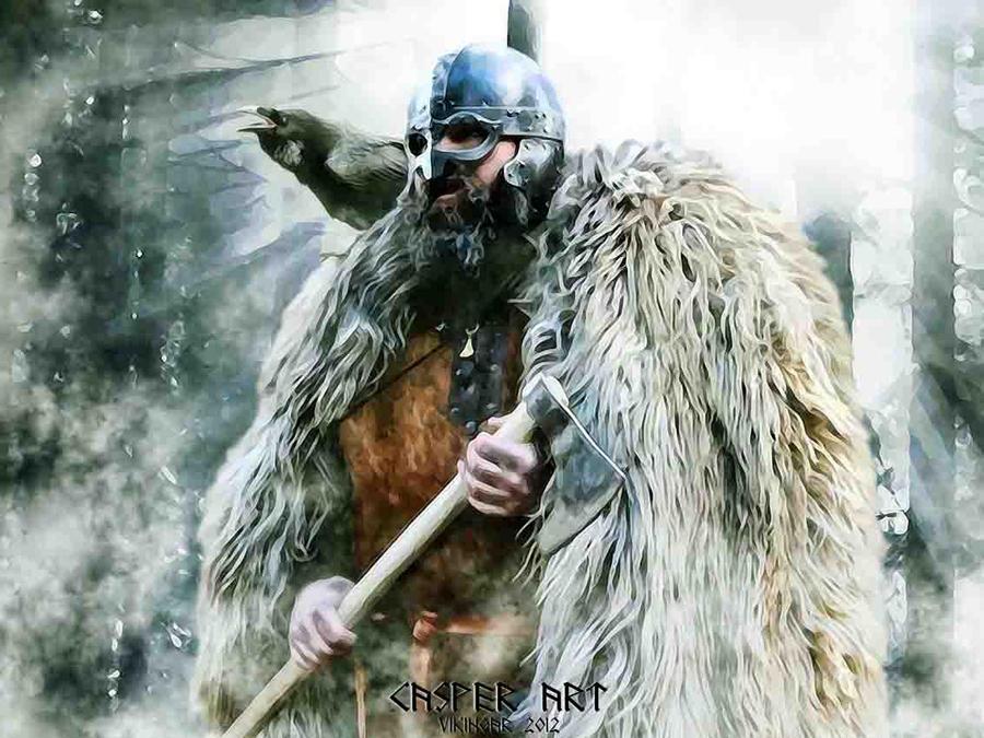 Viking Johannes Werth by thecasperart