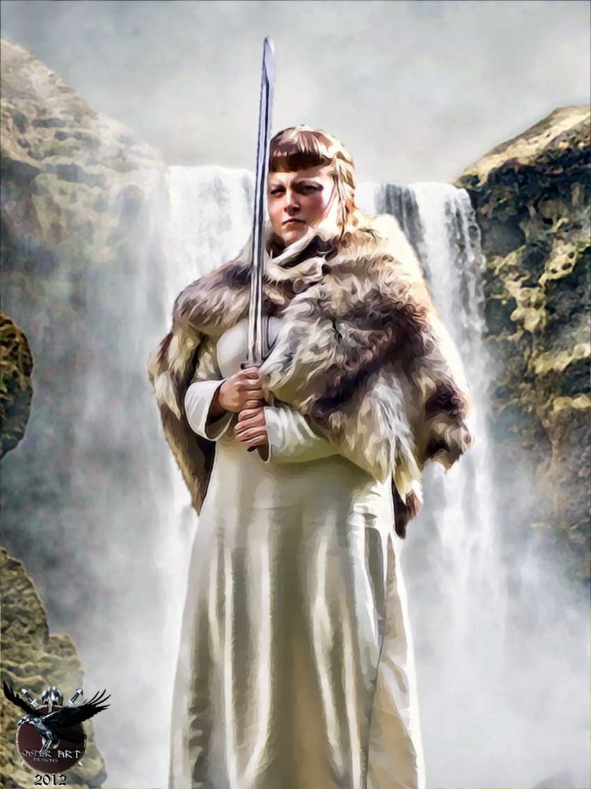 Viking Women Warriors Quotes. QuotesGram Viking Woman Art