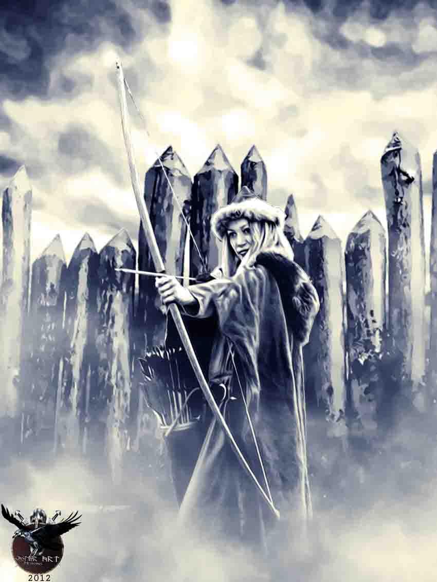 Viking Woman Warrior by thecasperart on DeviantArt Viking Woman Art
