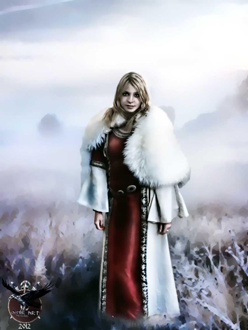 Viking woman by thecasperart on DeviantArt Viking Woman Art