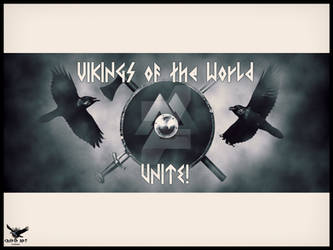 Vikings Unite by thecasperart