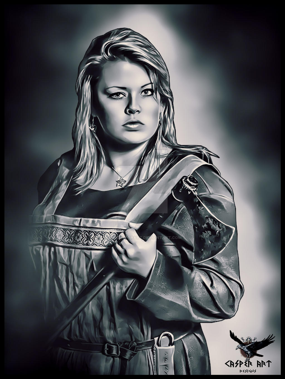 Viking woman 24 by thecasperart on DeviantArt Viking Woman Art