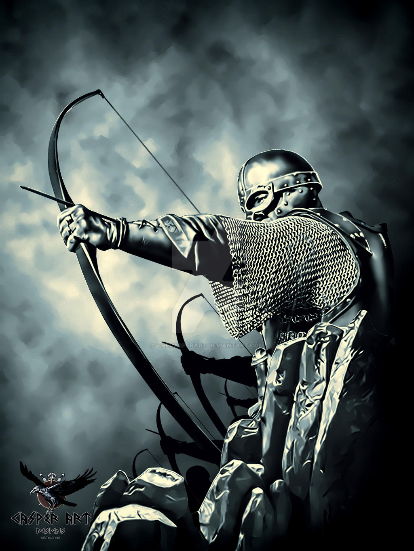 viking archers by thecasperart on deviantart