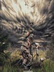 Viking on the way to Valhalla