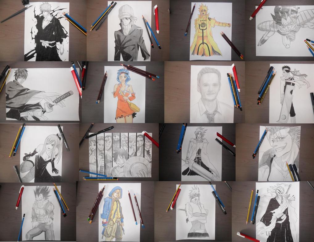 Some of my fav drawings by Jbgombert