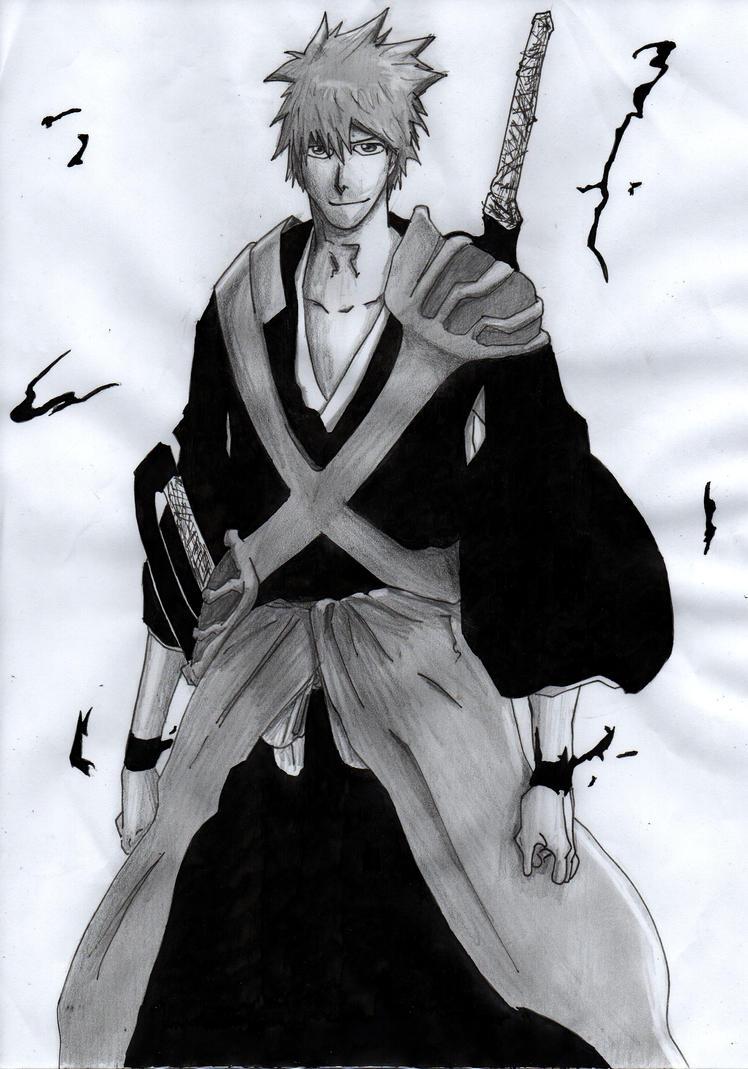Kurosaki Ichigo by Jbgombert