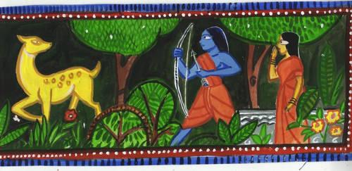 Sita Spots The Golden Deer