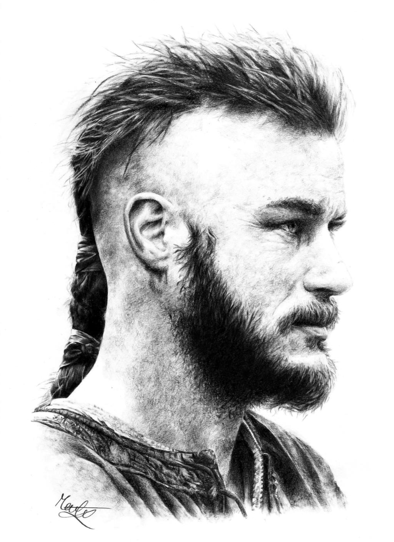 Ragnar Lothbrok By Marchesme On DeviantArt