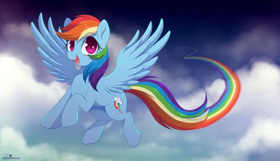 Rainbow Dash by MomoMistress