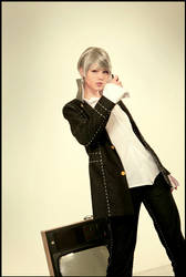 Persona 4 cosplay: Protagonist