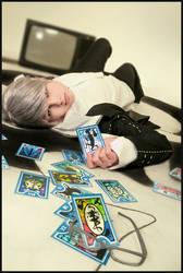 Persona 4 cosplay: MC