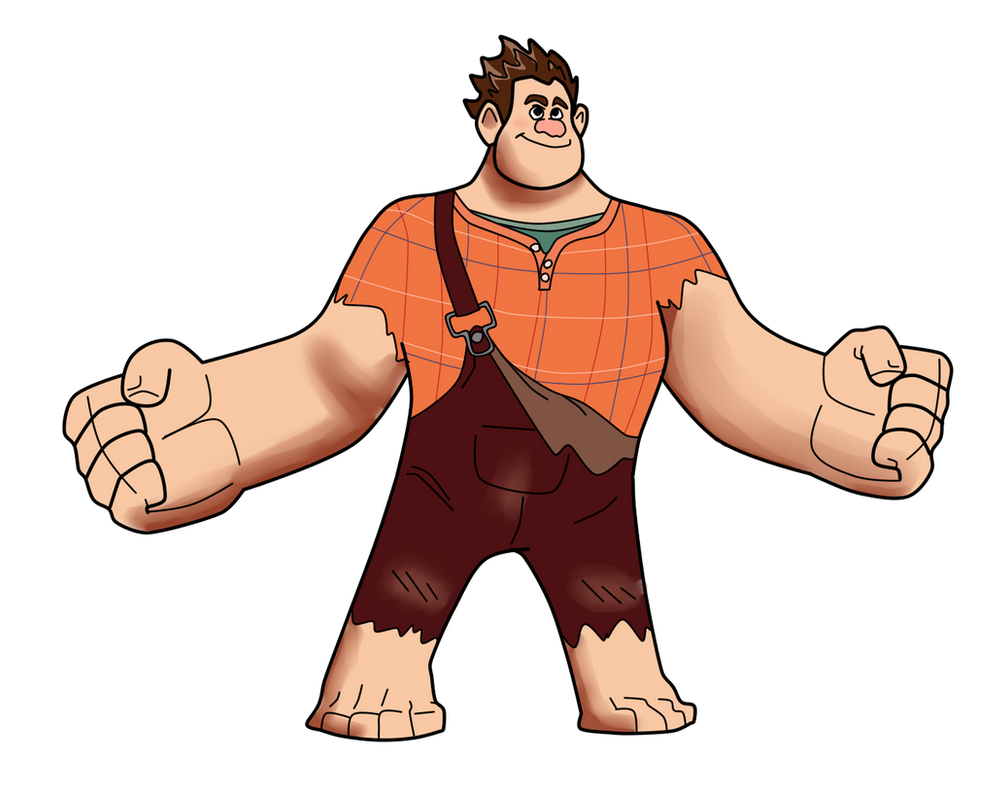 Wreck it ralph ralph drawing by rp cameroncandyton on deviantart