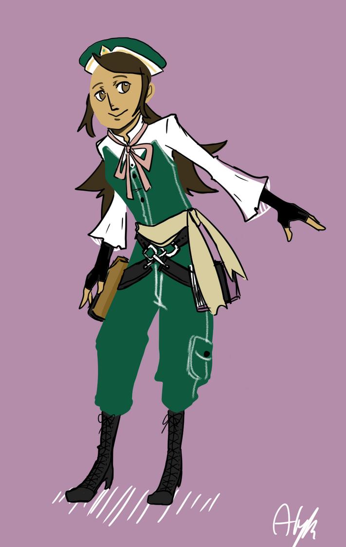Alchemist girl 2 by Tik-Y on DeviantArt