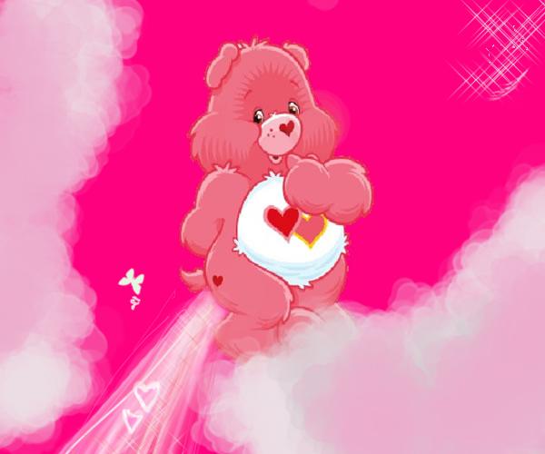 Care Bears Wallpaper: Care Bear Stare? By Saltoswinger On DeviantArt
