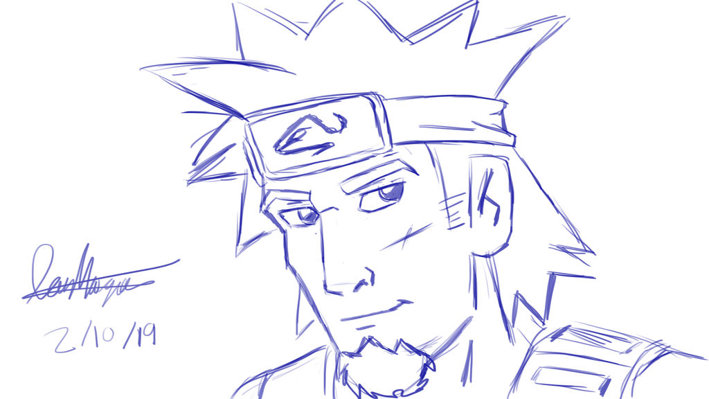 Naruto-fan-drawing by IanMaiguaPictures