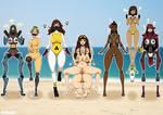 Genderbend Swimsuit Legends