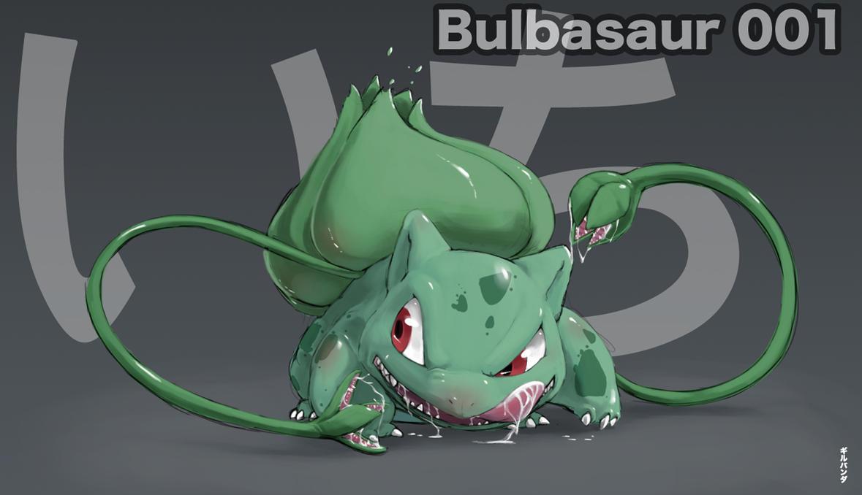 001-Bulbasaur by gillpanda
