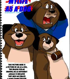 MY LIFE AS A DOG by gillpanda