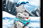 snowyheart by gillpanda