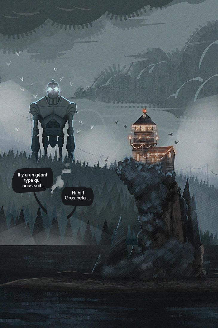 The Iron Giant by Art-of-Animalpark